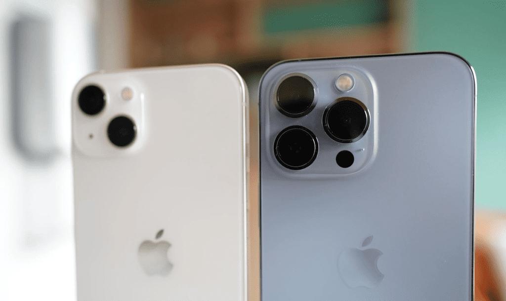 Différence entre l'iPhone 12 et 13