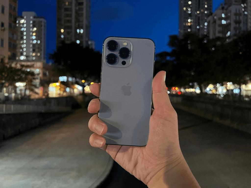 iPhone 13 Pro Max, caméra principale